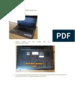 Cara Membongkar Dan Merakit Laptop Acer