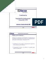 Conferencia ISO17799