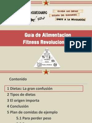 Guia para adelgazar en el gimnasio pdf