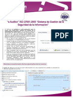 E-Auditor ISO 27001