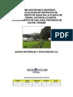 ESTUDIO de SUELOS Para Micropilotes