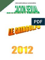Proyecto de Ed. Sexual y Ciudadana 2012
