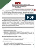 Oposiciones Inspección Educativa Centro Formativo Tvi