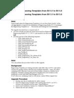 Upgrade Description Engineering Templates