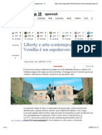 Liberty e arte contemporanea La Versilia è un capolavoro - IlGiornale