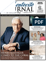 HENRY KISSINGER COMES TO THE CORAL