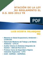 IMPLEMENTACION DE LEY Nº 29783