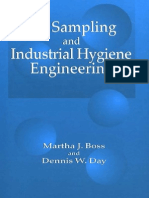 Air Sampling and Industrial Hygiene