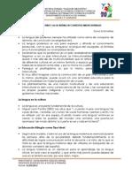 LA ENSEÑANZA DE LA LECTURA Y LA ESCRITURA EN CONTEXTOS MULTICULTURALES (Ideas Principales)