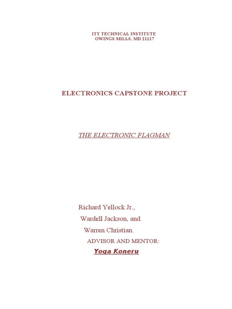 itt capstone project