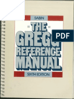 Bk Edctn GreggReferenceManual6thEd