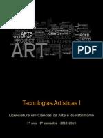 Tecnologías Artísticas 2012