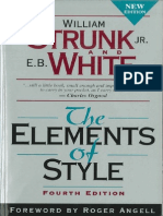 Bk Edctn TheElementsOfStyle4thEd