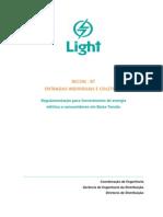 Manual Técnico - LIGHT - RECON - Entradas individuais e coletivas