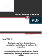 Matriz Interna Externa