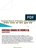 central group of excise & customs