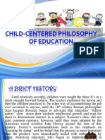 Child-Centered Philosophy of Education (2)