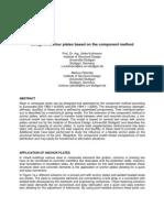 Design of Anchor Plates Based on the Component Method; Rybinski & Kulhmann
