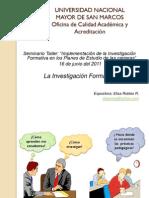 N2212 Diapositivas Investigacion Formativa 2011