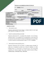 RESPUESTA A OBSERVACIONES TÉCNICAS 06-2009-07-009 T-1