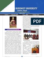 Lumbini Buddhist Vol 3 No 1