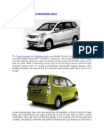 Power Tips for Toyota Avanza Xenia Users