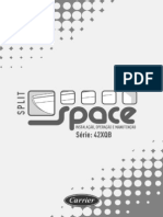 Carrier - Manual de instalação mini split