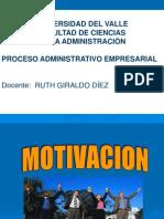 8 ° S MOTIVACIÓN Proceso Advo  Univalle