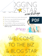 Blogging Biz Star Workbook