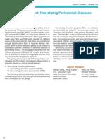 15 Consensus Report- Necrotizing Periodontal Disease