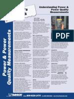 Understanding Power Quality Measurements