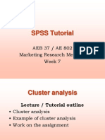 Cluster Analysis Tutorial