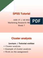 Cluster Analysis Tutorial