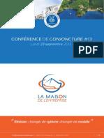 Dossier de presse de la 1ère conférence de conjoncture
