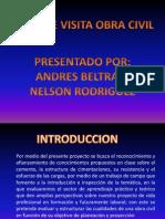 Presentacion de La Estructura de Obras Civiles - Edificaciones