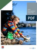 2010 Metropolitan Water Plan