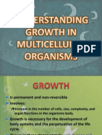 understanding growth in multicellular organism