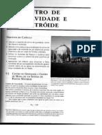 Cap. 9 - CENTRO DE GRAVIDADE E CENTRÓIDE