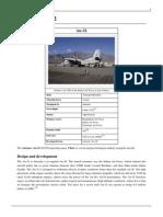 Antonov -32 transport aircraft