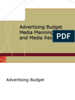 Ad Budget_media Planning_media Research