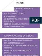 Vision Mision Valores