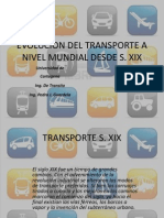 Transito-evolucion Del Transporte