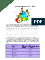 Organización de datos y su registro gráfico