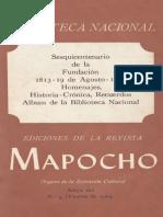 Revista Mapocho 1963 - Biblio. Nacional