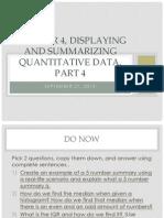 chapter 4 displaying and summarizing quantitative data part 4