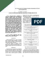 A Spatial Probabilistic Framework for Regional Seismic Simulation of Earth and Rockfill Dams
