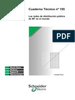 Las redes de distribución públicade MT en el mundo