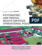 Psychiatry Operational Policy