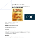 Report Eel Cerebro Leonardo 2013