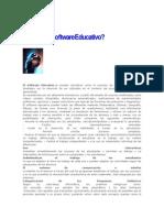 2do articulo Qué es el Software Educativo